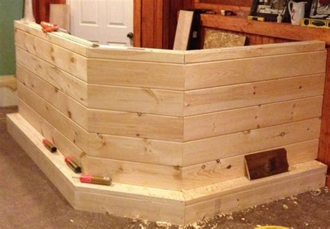 Building A Bar In The Basement by Building My Basement Bar Woodworking Talk Woodworkers