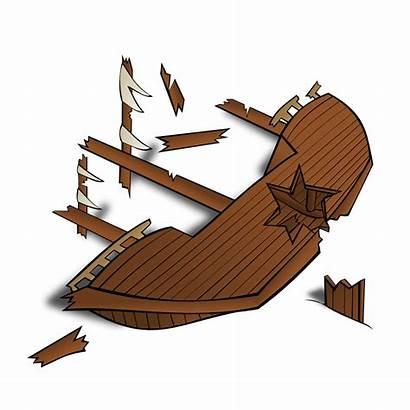 Clipart Rpg Map Shipwreck Symbols Boat Wreck