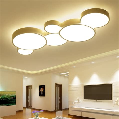 Led Lights For Room Ceiling by 2017 Led Ceiling Lights For Home Dimming Living Room