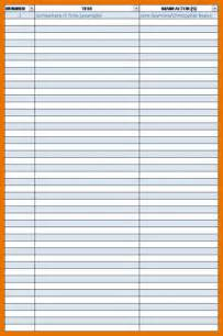 Free Printable Inventory List Template