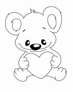 Koala Bear Coloring Pages Az Coloring Pages