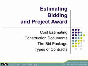 Ach 216 lecture 04b bidding part 2 for Asi construction documents