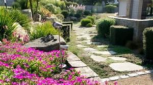 Allee De Jardin Facile : jardin paysager conseils d 39 un paysagiste pour bien l 39 am nager c t maison ~ Melissatoandfro.com Idées de Décoration