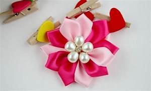 Comment Faire Secher Une Rose : diy comment faire une fleur en tissu petites fleurs en ~ Melissatoandfro.com Idées de Décoration