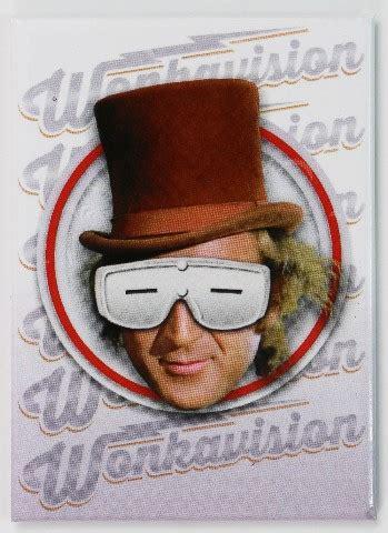 Willy Wonka Wonkavision Fridge Magnet Charlie The