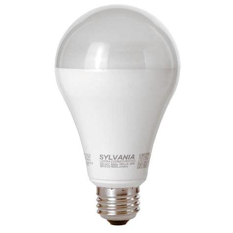 a shape dimmable led 19w a21 soft white sylvania ultra led