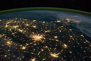 Earth at Night From Space Station (page 2) - Pics about space