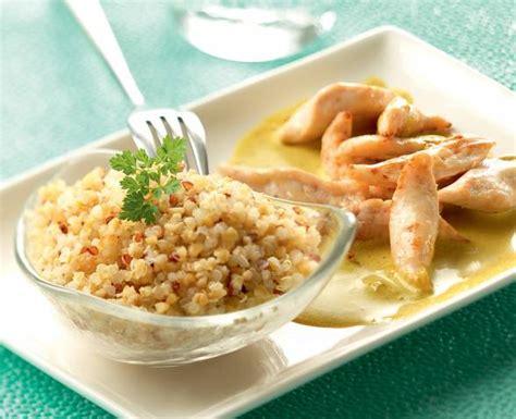recette quinoa poulet curry tipiak