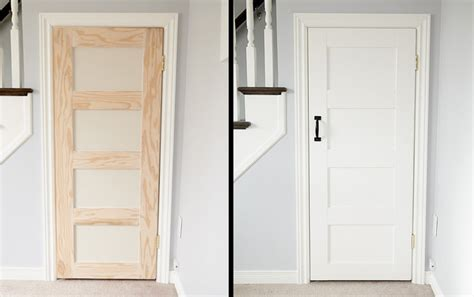 Door Makeover by Interior Door Makeover Projects Decorating Your Small Space