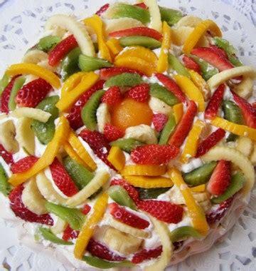 dessert au fruit frais pavlova aux fruits frais les meilleures recettes de cuisine d 212 d 233 lices