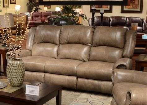 reclining sofa with drop down table livingston power leather reclining sofa with drop down
