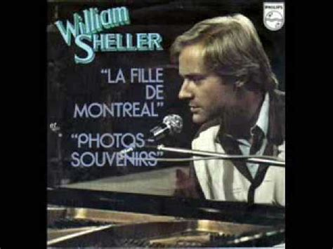"""William sheller is a french singer and composer. WILLIAM SHELLER """"PHOTO SOUVENIRS"""" - YouTube"""