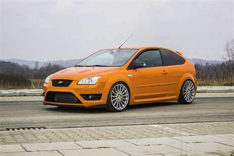 Electric Orange Ford Focus St Mk2 From Poland Ford Focus