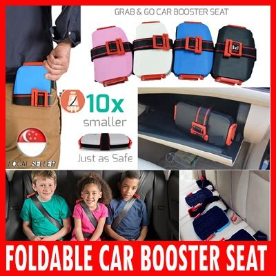 qoo foldable car booster baby maternity