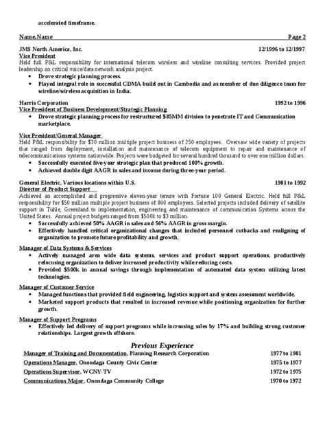 American Style Resume Sles by American Style Resume Sle