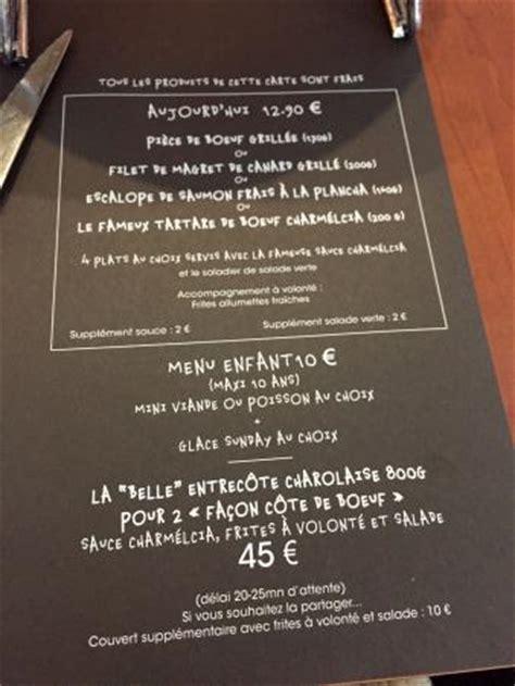 cuisine centrale montpellier menu menu unique picture of bistro regent montpellier