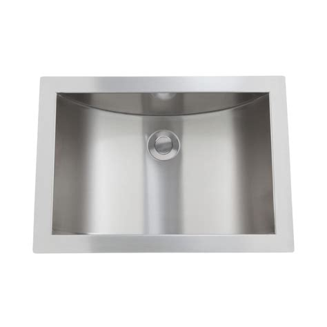 21 Quot Optimum Stainless Steel Curved Undermount Sink Bathroom