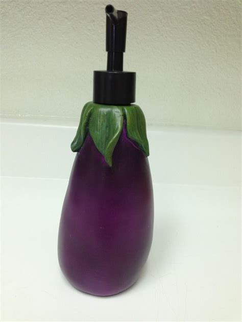eggplant kitchen accessories 1000 ideas about kitchen soap dispenser on 3534