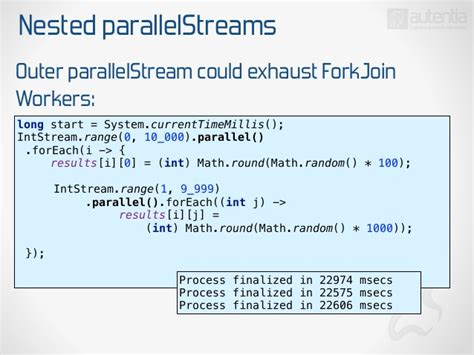 parallel streams in java 8