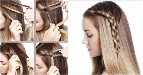 How To Make Beautiful One Sided Braid Hair Style Step By Step Diy Tutorial Picture Instructions Hairstyles Braids For Long Hair Color Ideas Grey Roots Colour Design How To Make A White Black Naturally Photos Of Toy Poodle Haircuts Ruby Red Side Braid Ponytail Short With Blonde Highlights At Home