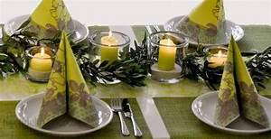 Tischdeko Mit Sonnenblumen : gr n mit olivengirlande tischdeko pinterest ~ Lizthompson.info Haus und Dekorationen