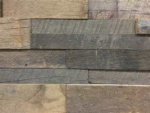 Reclaimed barn wood stacked wall panels for Barnwood panelling