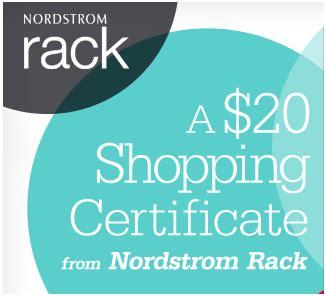 nordstrom rack code hautelook free 20 nordstrom rack gift certificate
