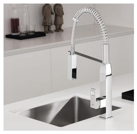 grohe kitchen sink taps grohe eurocube pro professional coil kitchen tap 4103
