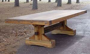 Rustic Farm Trestle Table Coma Frique Studio 9fde3bd1776b