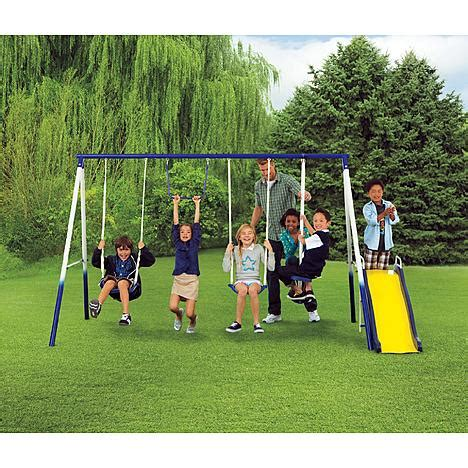 Traditional Metal Swing Set Keep Your Kids Active With Kmart