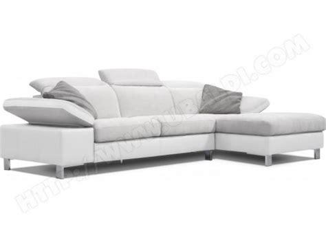 canap blanc pas cher photos canapé gris et blanc pas cher