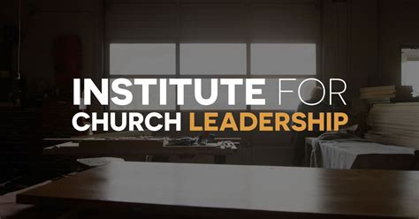 tms introduces  institute  church leadership