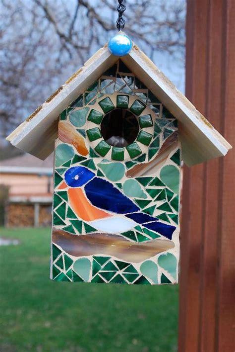 mosaic birdhouses httplometscom