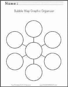 Essay Organizer Bubble Map Graphic Organizer Worksheet Free To Print