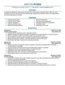 customer relationship management resume
