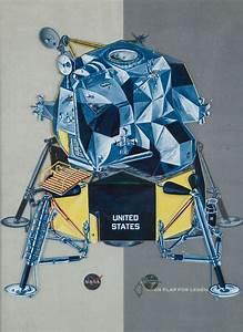 || NASA/ Grumman Apollo Lunar Module Transgraphic Brochure ...