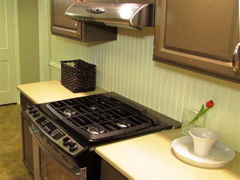 how to install backsplash kitchen how to install a beadboard backsplash diy kitchen design