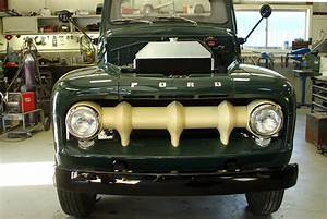 1952 Ford Truck In Finishing Stages