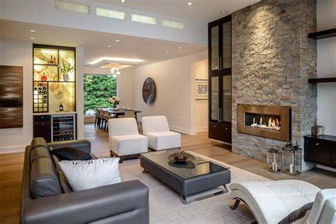 custom home interiors beautifully crafted contemporary custom home in