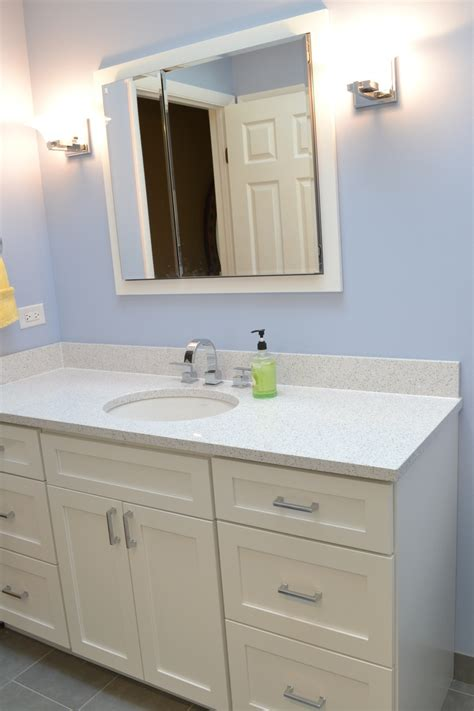 bathroom vanities cambria quartz color paired with painted white