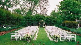 outdoor weddings outdoor wedding locations ideas