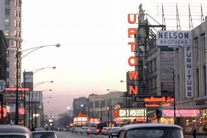 Uptown Chicago 1950s Broadway 1960 Theater Theatre