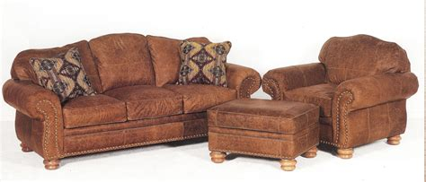 sofa chair and ottoman distressed leather sofa chair and ottoman