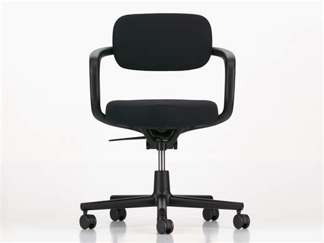 Swivel Office Chairs Uk by Buy The Vitra Allstar Office Swivel Chair Black At