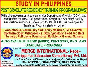 Merge International Nepal-Philippines Education ...