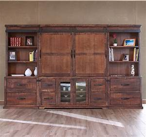 mesmerizing wall units with barn doors gallery simple With barn door entertainment unit