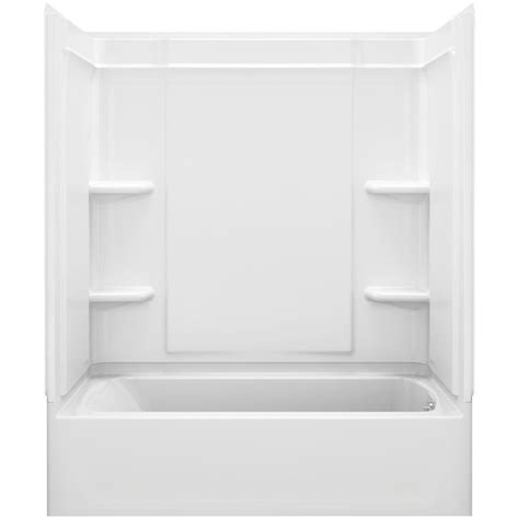 3 Tub Shower Combo by Sterling Ensemble Medley 60 In X 32 In X 77 In 4