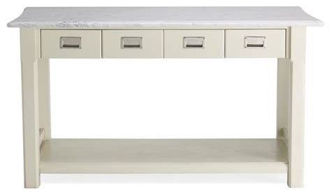 newland kitchen island white marble top traditional