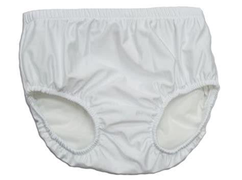 reusable swim diaper white youth  pool pal