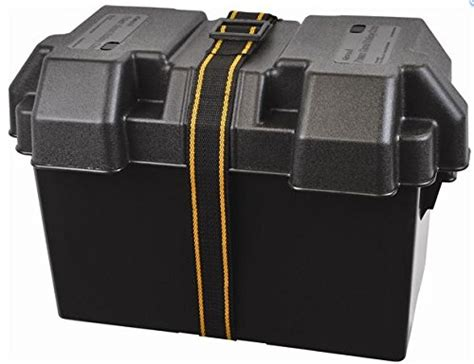 power guard battery box  vented large boat supply cable